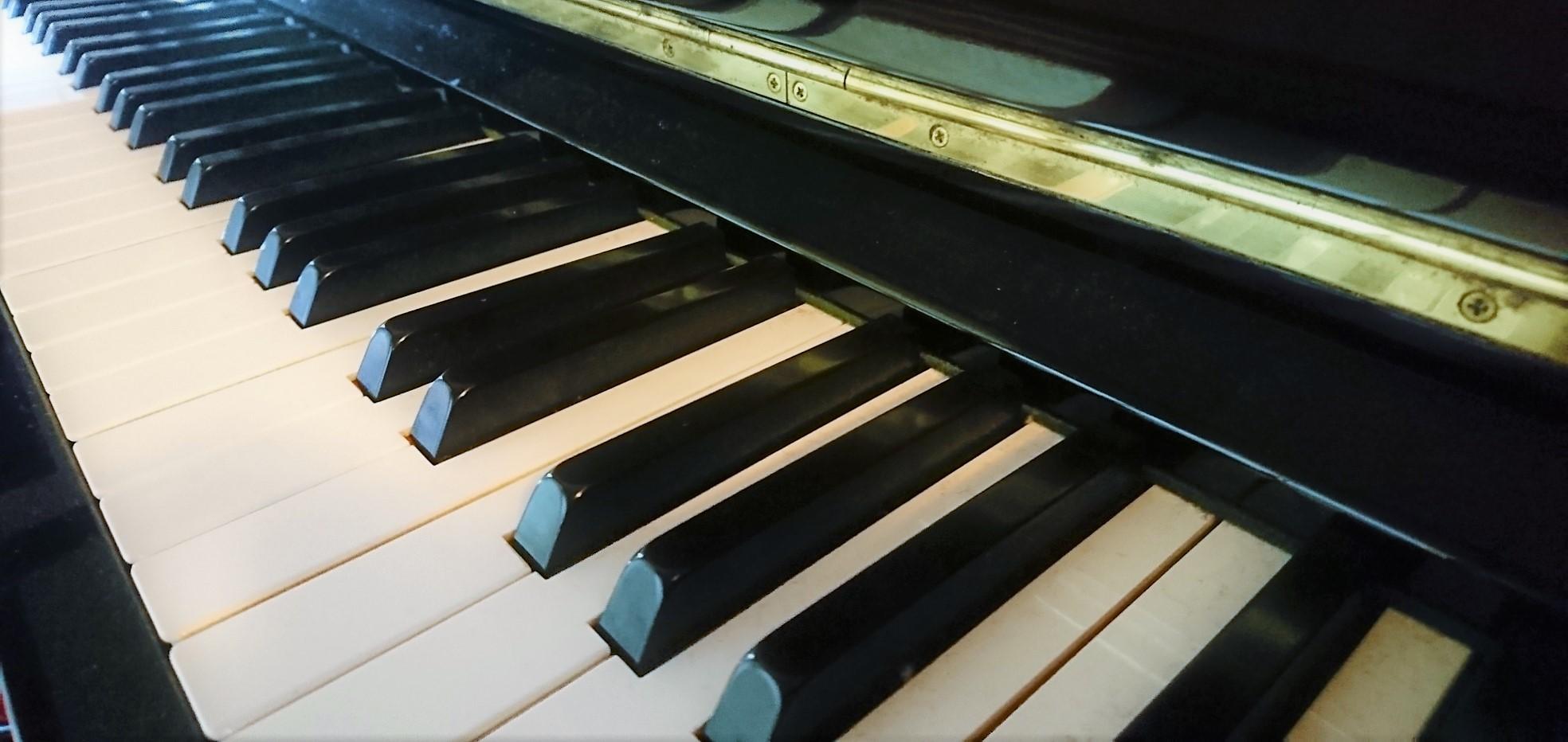 ピアノ自撮り